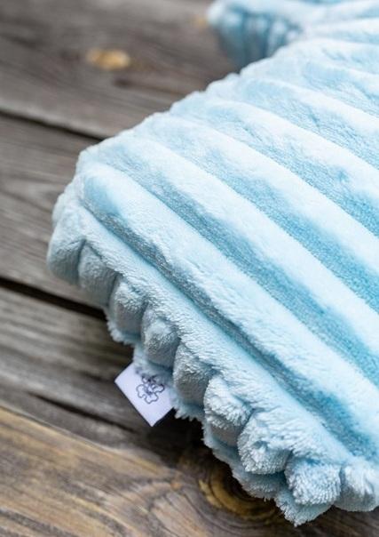 poduszka dekoracyjna błękitna