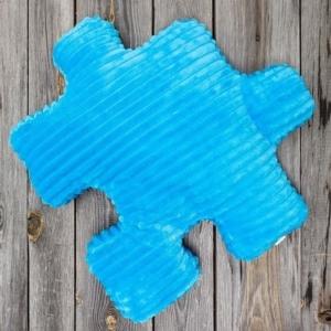 Niebieska poduszka do pokoju dziecięcego Nice Time