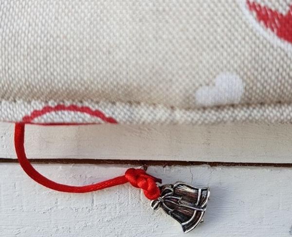 Zawieszka świąteczna dzwoneczki do okładki na książkę