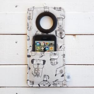 Cool kieszonka do ładowania telefonu Coolphone Psy
