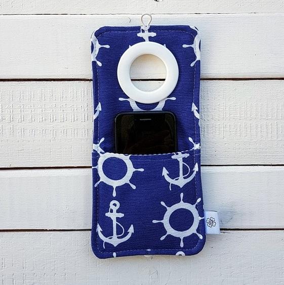 Cool kieszonka do ładowania telefonu Coolphone kotwice