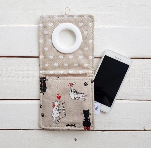 Coolphone Cats in Love kieszonka na telefon, dla miłośników kotów