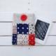 Szpanerski pokrowiec na czytnik e-bookszpan Morski patchwork dla żeglarzy