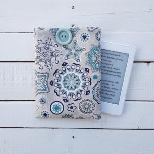 Ręcznie szyte etui na czytnik e-booków Ornamenty