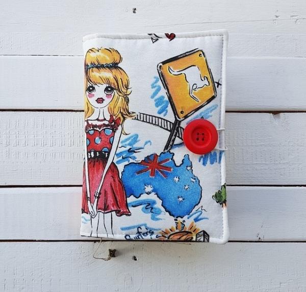 okładka na książeczkę dla dziewczynki