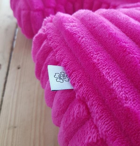 poduszka dla dzieci minky fuksja