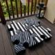 Welurowe poduchopuzzle zestaw zebra Nice Time