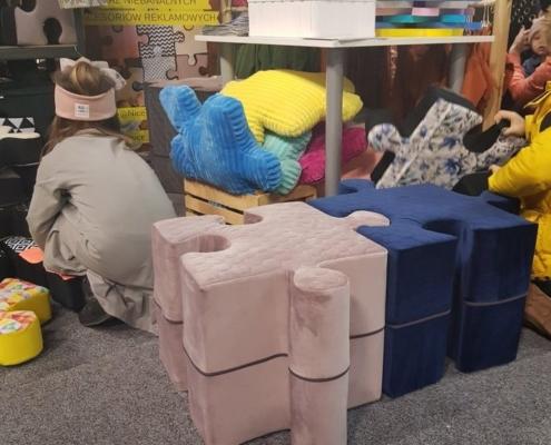 Pufopuzzle Nice Time pufy dziecięce
