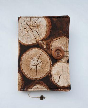 Otulacz na ksiązkę Drewno