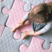 Mata puzzle piankowe Nice Time