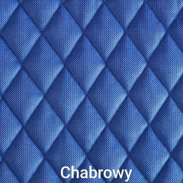 Poduchopuzzle pikowany granatowy chabrowy velvet Nice Time