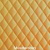 Poduchopuzzle pikowany velvet musztardowy Nice Time