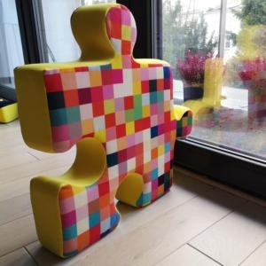 Puzzle cushion pixels Nice Time